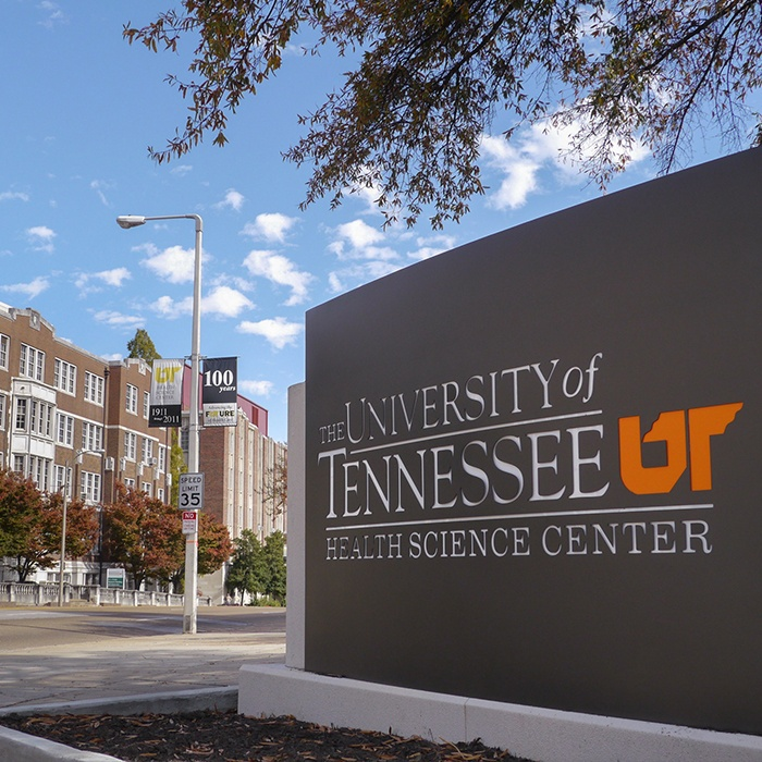 The University of Tennessee sign